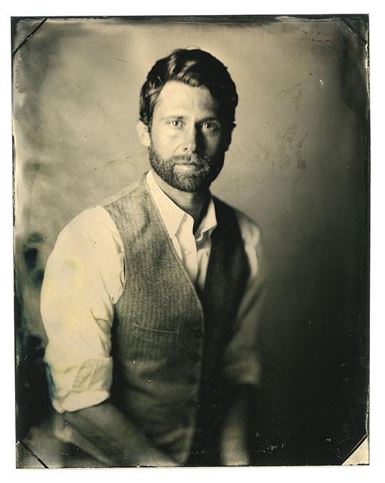 G.P. LeBourdais, tintype