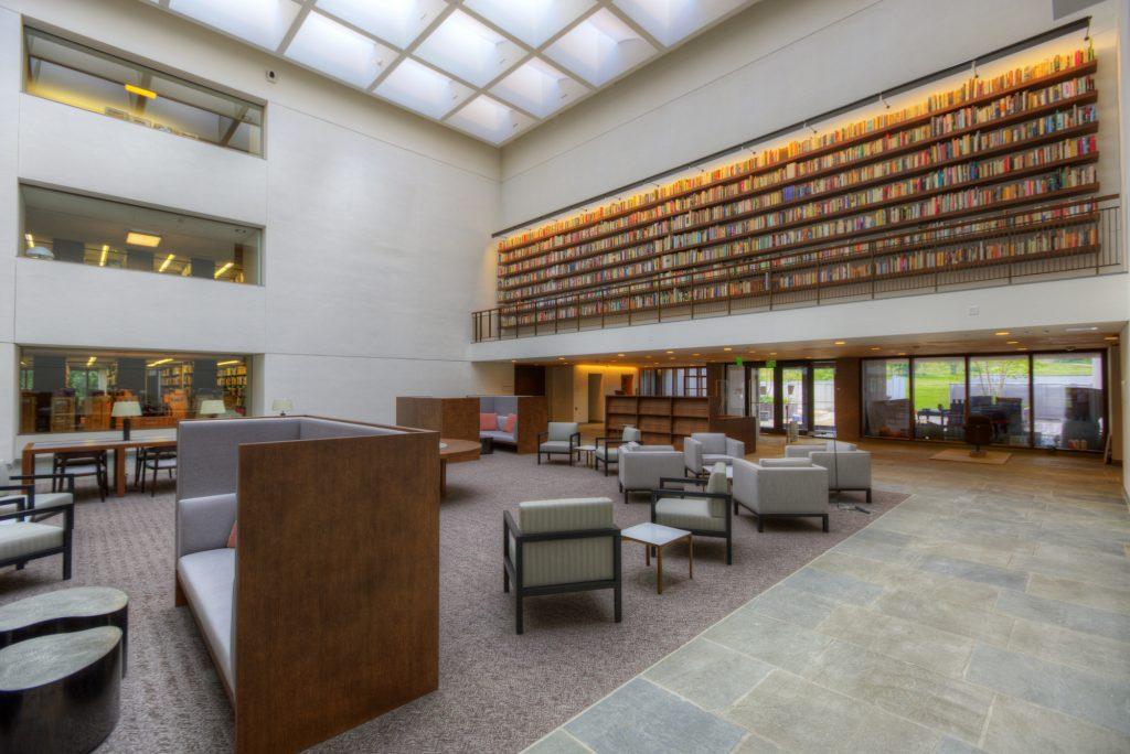 Reading Room in Manton Center