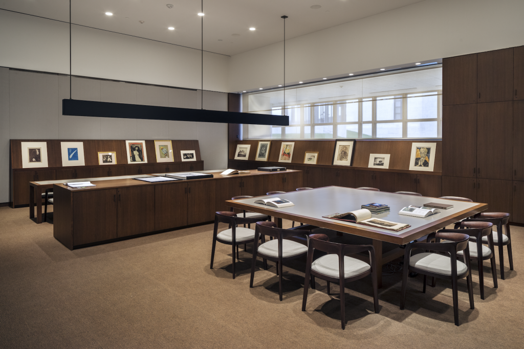 The Clark Art Institute Manton Study Center for Works on Paper